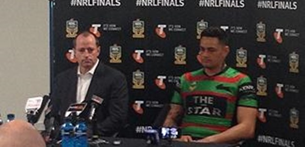 Rabbitohs v Sea Eagles FW3 (Press Conference)