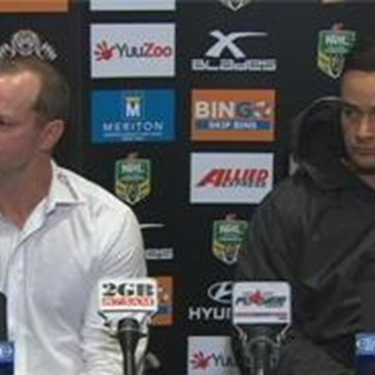 Rabbitohs v Tigers rd 25 (press conference)