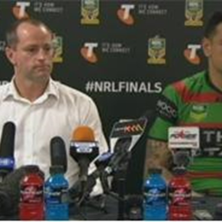 Rabbitohs v Storm FW1 (Press Conference)
