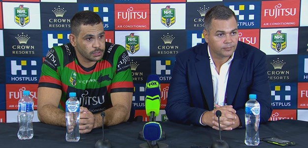 Seibold and Inglis discuss victory over the Sea Eagles