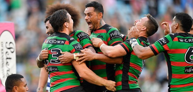 Match action - Rabbitohs v Bulldogs