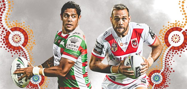 Rabbitohs v Dragons - Round 10