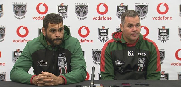 Inglis and Seibold press conference