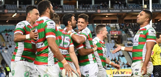 Match action - Eels v Rabbitohs