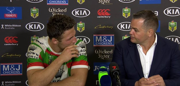 Seibold and Burgess - Bulldogs press conference
