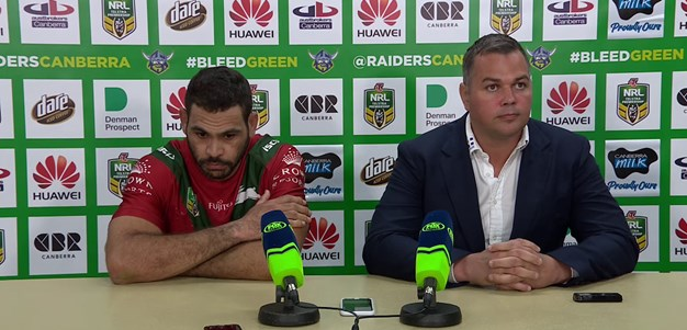 Press conference - Round 24