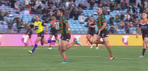 Johnston crosses as Rabbitohs run riot