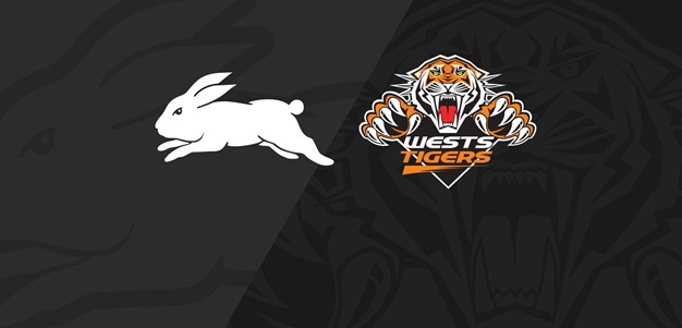 Full Match Replay: Rabbitohs v Wests Tigers - Round 25, 2018