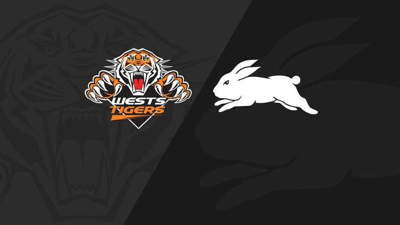 Full Match: Wests Tigers v Rabbitohs