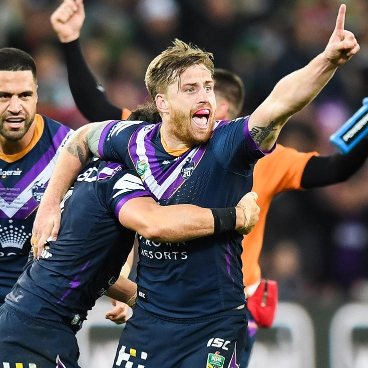 Match action: Storm v Rabbitohs - Finals Week 1