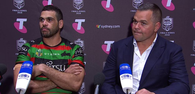 Roosters v Rabbitohs press conference