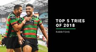 NRL.com's top 5 Rabbitohs tries