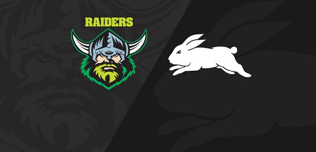 Full Match Replay: Raiders v Rabbitohs - Round 10, 2019