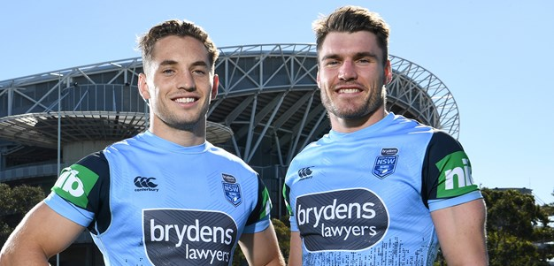 From rugby foes to Blues teammates: The journey of Murray and Crichton