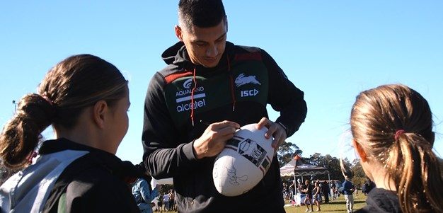 Souths players out to have their voice heard during NAIDOC