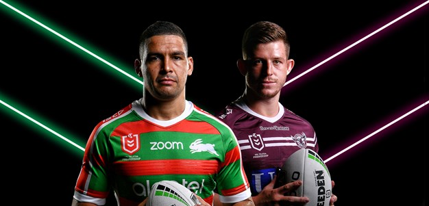 Rabbitohs v Sea Eagles - Round 17