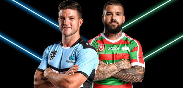 Sharks v Rabbitohs - Round 20