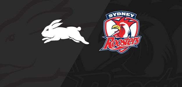 Full Match Replay: Rabbitohs v Roosters - Round 25, 2019