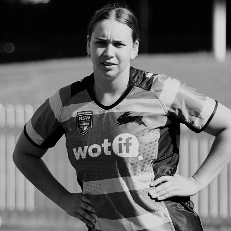 2019 Rabbitohs Women's Player of the year - Karri Doyle