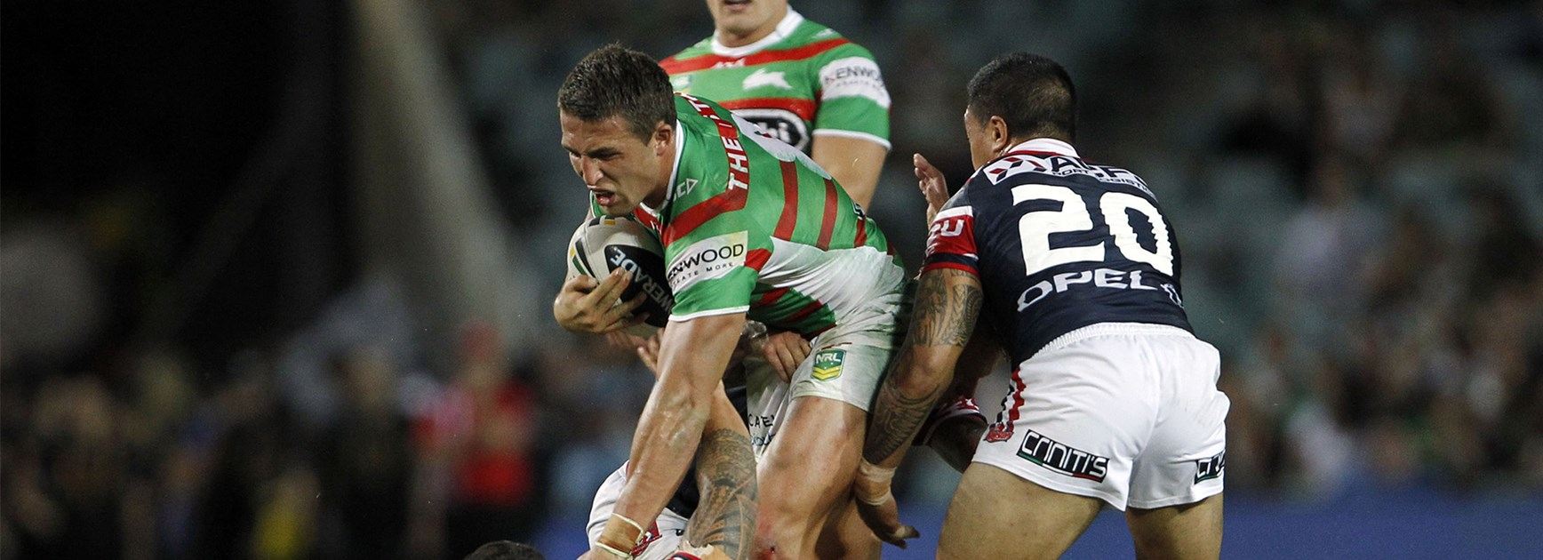 The Best of 'Slamming' Sam Burgess