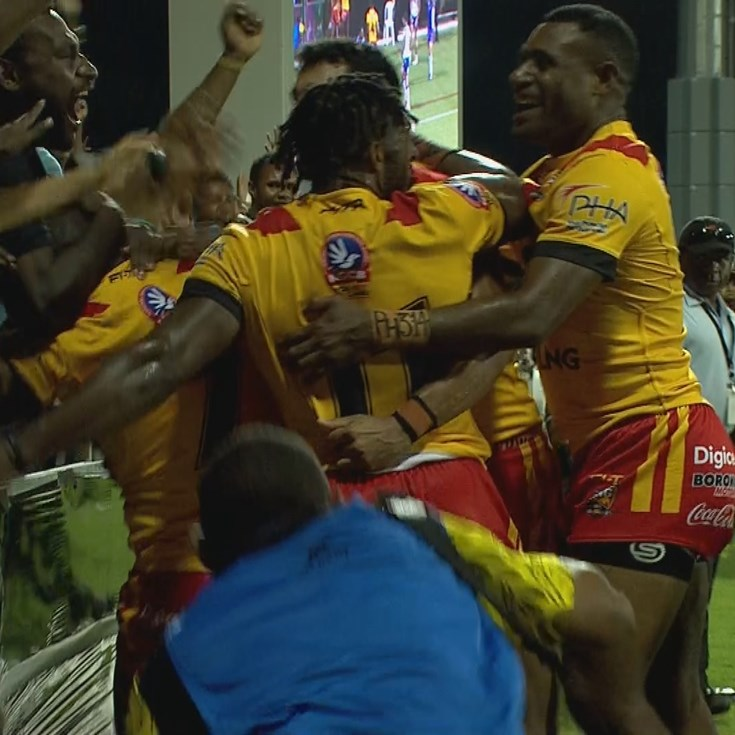 Match Highlights: Papua New Guinea v Great Britain
