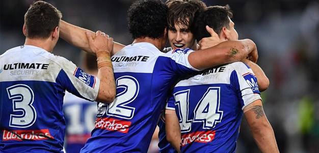 Last time they met: Rabbitohs v Bulldogs - Round 22, 2019