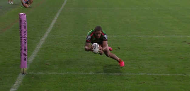 Fancy footwork from Mitchell hands Gagai a double