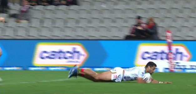 Johnston picks off a Dufty pass