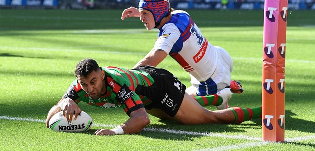 Johnston helps Rabbitohs level it up
