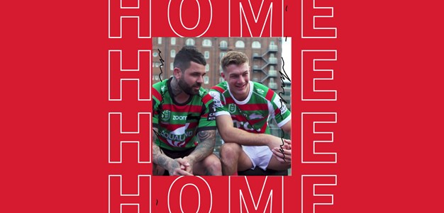 Rabbitohs Launch 2021 Home and Away Jerseys