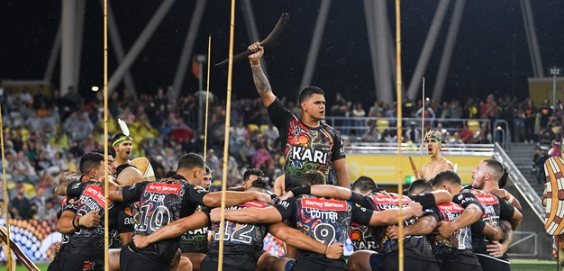 Inside the Indigenous All Stars' war cry