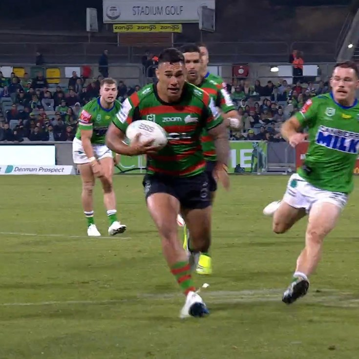 Rabbitohs strike on the right as attack hits top gear