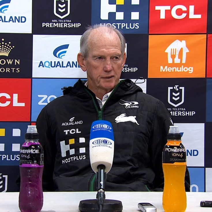 Wayne Bennett Raiders Press Conference