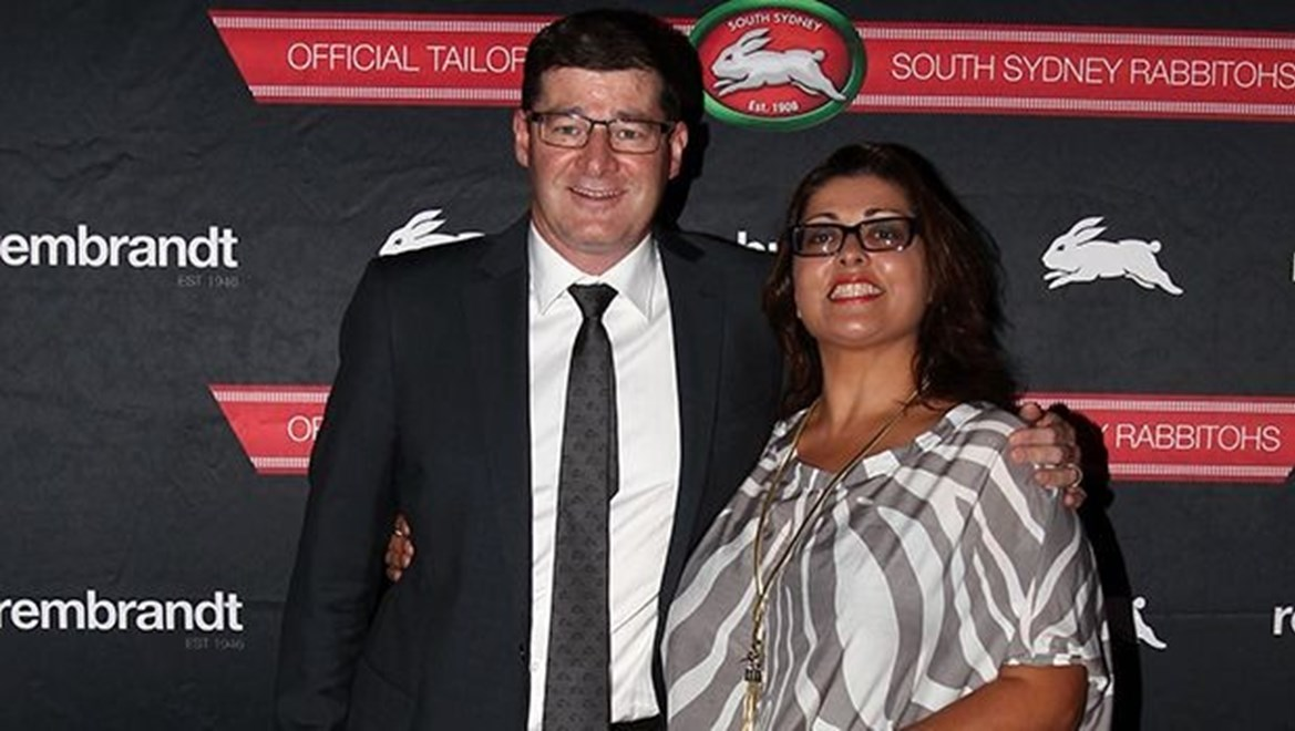 Photo by Colin Whelan copyright © nrlphotos.com :                               NRL Rugby League, South Sydney Premiers Red and Green Ball at Randwick Racecourse, Friday  October 10th 2014.