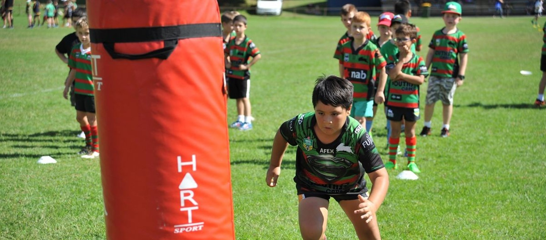 GALLERY: Rabbitohs 2015 Holiday Clinic