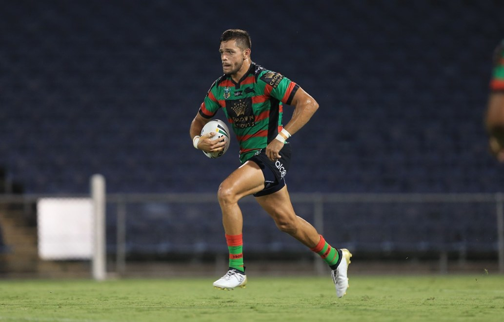 : South Sydney Rabbitohs V Manly-Warringah Sea Eagles trial NRL match at Campbelltown Stadium. Saturday the 11th of February 2017. Image by Robb Cox ©NRL Photos