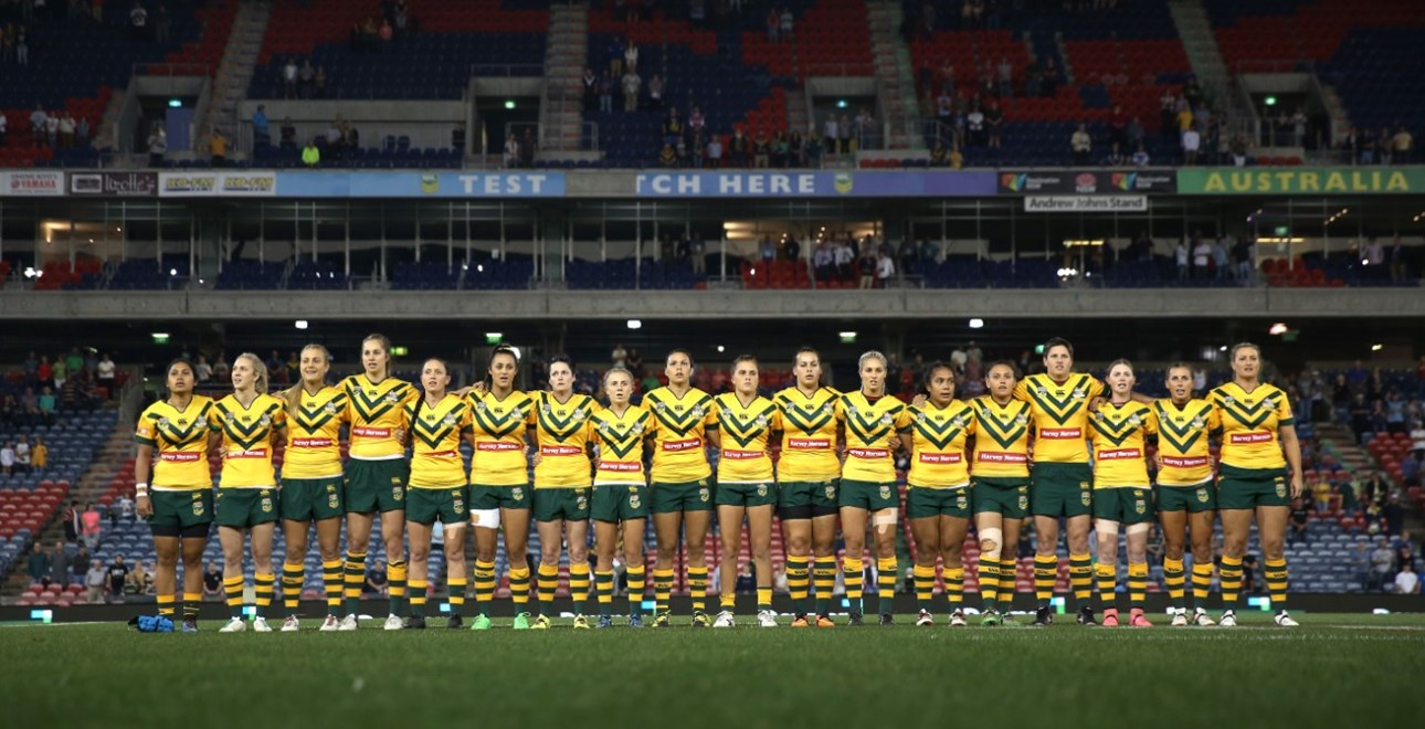 Competition - International Rugby League - Downer Test Match.