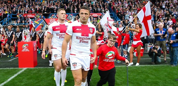Sam Burgess To Captain England At Rugby League World Cup Grand Final