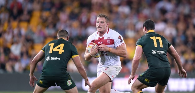 Thomas Burgess to represent England and Great Britain